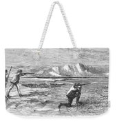 Arctic: Bear Hunting, 1871 Weekender Tote Bag