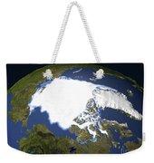 Arctic Sea Ice, 1979 Weekender Tote Bag