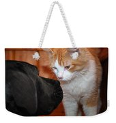 Are You Feeling Lucky Punk Weekender Tote Bag