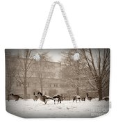 Are You Joining Us... Weekender Tote Bag
