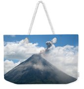 Arenal Eruption Weekender Tote Bag
