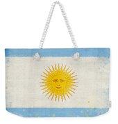 Argentina Flag Weekender Tote Bag by Setsiri Silapasuwanchai