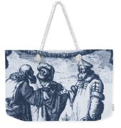 Aristotle, Ptolemy And Copernicus Weekender Tote Bag
