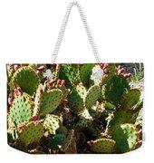 Arizona Prickly Pear Cactus Weekender Tote Bag