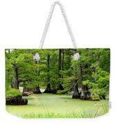 Arkansas Lake With Cypresses Weekender Tote Bag