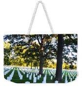 Arlington Cemetery Graves Weekender Tote Bag