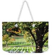 Arlington National Cemetery In The Fall  Weekender Tote Bag