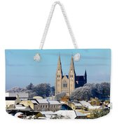 Armagh Cathedral In The Snow Weekender Tote Bag