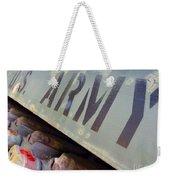 Army Weekender Tote Bag