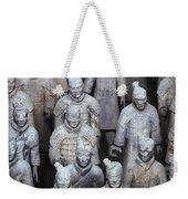 Army Of Terracotta Warriors In Xian Weekender Tote Bag