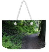 Around Another Bend In The Trail On Mt Spokane Weekender Tote Bag