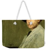 Arrangement In Grey - Portrait Of The Painter Weekender Tote Bag