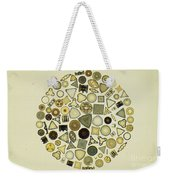 Arrangement Of Diatoms Weekender Tote Bag