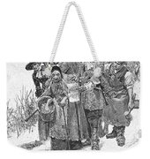 Arresting A Witch, 1692 Weekender Tote Bag by Granger
