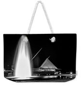 Art Fountain Weekender Tote Bag