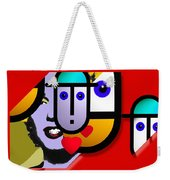 Art Lover Revisited Weekender Tote Bag