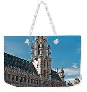 Art Reflecting Art In Brussels Weekender Tote Bag