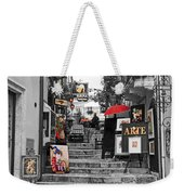Artful Bistro Weekender Tote Bag