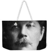 Arthur Conan Doyle, Scottish Author Weekender Tote Bag
