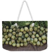 Artichokes And Greens Arranged Weekender Tote Bag