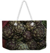 Artichokes At A Market In Provence Weekender Tote Bag