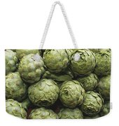 Artichokes At An Open Air Market Weekender Tote Bag