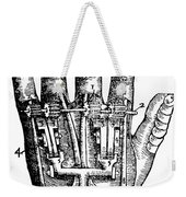 Artificial Hand Designed By Ambroise Weekender Tote Bag