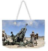 Artillerymen Fire-off A Round Weekender Tote Bag