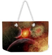Artist Concept Illustrating The Stellar Weekender Tote Bag