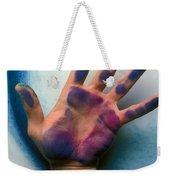 Artist Hand Weekender Tote Bag