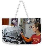 Artist In Action Weekender Tote Bag