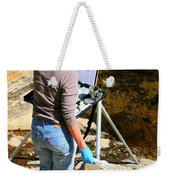 Artist Sketch Weekender Tote Bag by Tap On Photo