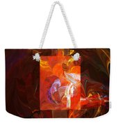 Artist World View Weekender Tote Bag