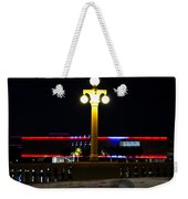 Artistic Lights Weekender Tote Bag