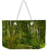 Artistic Water Reflections Weekender Tote Bag