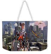 Artists Concept Of A City Of The Future Weekender Tote Bag