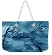 Artists Concept Of A Dangerous Snow Weekender Tote Bag by Mark Stevenson