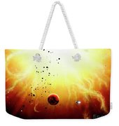 Artists Concept Of A Manned Expedition Weekender Tote Bag