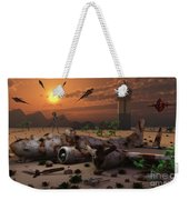 Artists Concept Of A Science Fiction Weekender Tote Bag