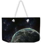 Artists Concept Of A Terrestrial Planet Weekender Tote Bag by Tomasz Dabrowski