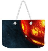 Artists Concept Of An Early Earth Weekender Tote Bag by Walter Myers