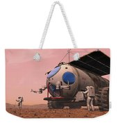Artists Concept Of How A Martian Weekender Tote Bag