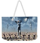 Artists Concept Of Mankinds Reliance Weekender Tote Bag
