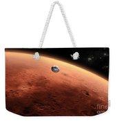 Artists Concept Of Nasas Mars Science Weekender Tote Bag