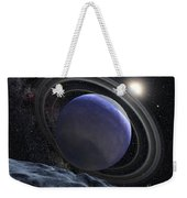 Artists Illustration Of An Extrasolar Weekender Tote Bag