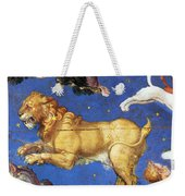 Artwork In Villa Farnese, Italy Weekender Tote Bag by Photo Researchers