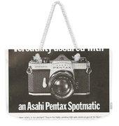 Asahi Pentax Spotmatic Weekender Tote Bag