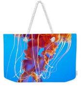 Ascending Jellyfish Weekender Tote Bag