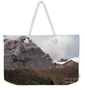 Ash And Gas Rising From Lava Dome Weekender Tote Bag by Richard Roscoe