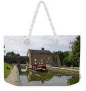 Ashby Canal At Moira Furnace Weekender Tote Bag